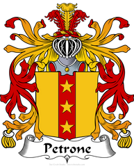 Petrone family crest
