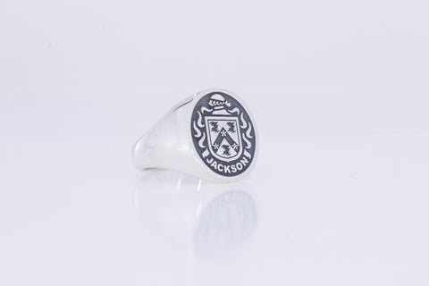 Jackson coat of arms ring