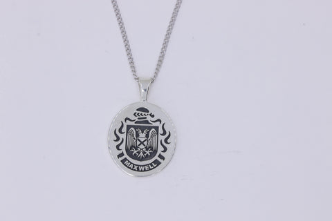Maxwell family crest pendant