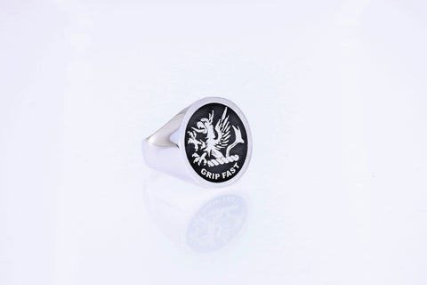 Leslie Clan Crest Ring