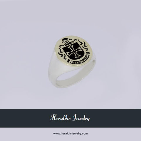 Pilkington family crest ring