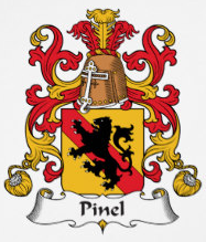 Pinel family crest