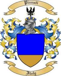 Pizzuti family crest