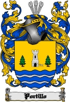 Portillo family crest