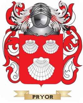 Pryor family crest