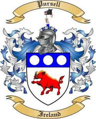 Pursell family crest