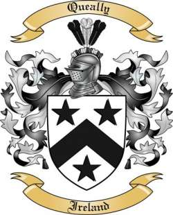Queally family crest