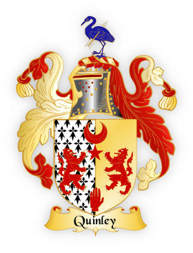 Quinley family crest