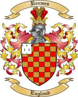 Reames family crest