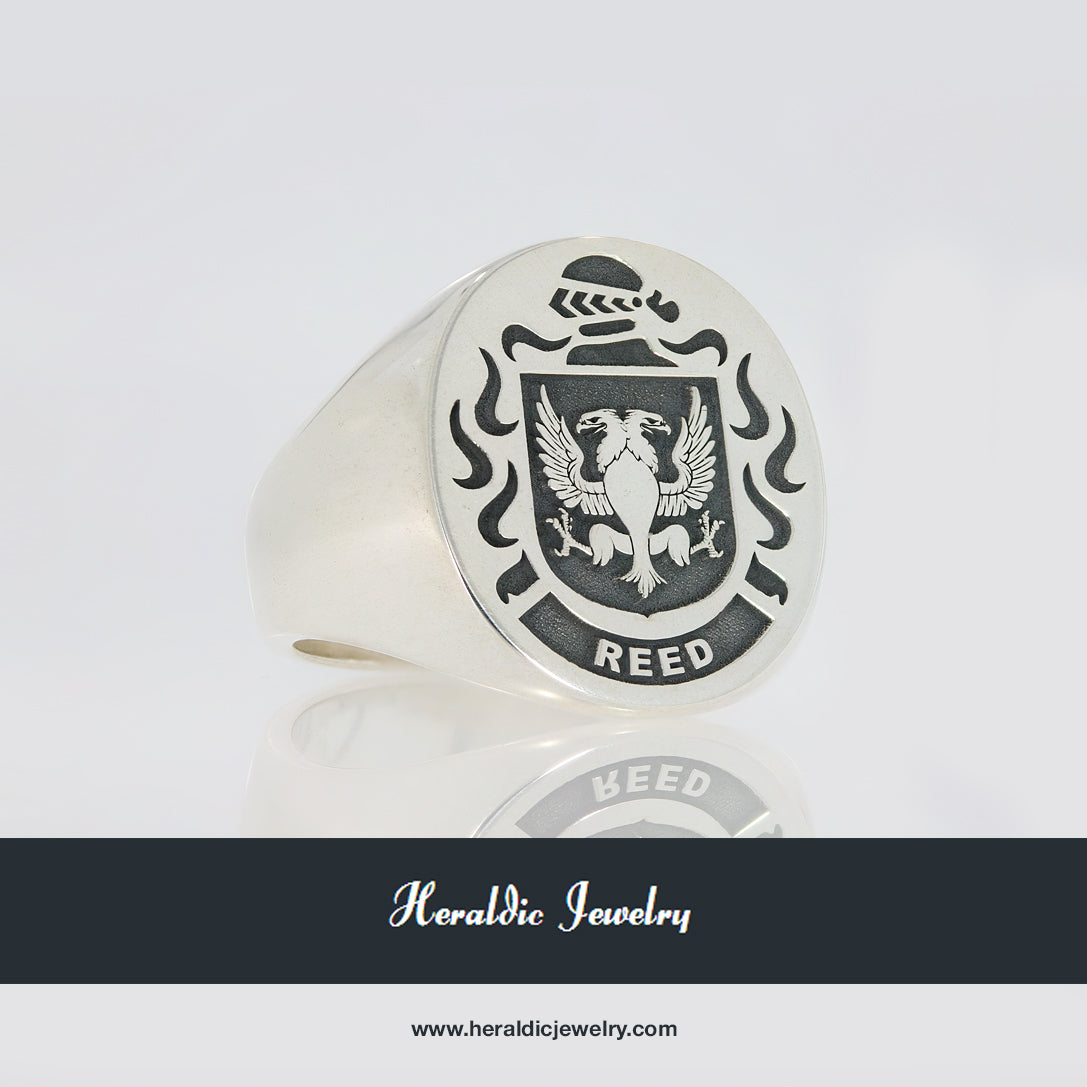 Reed family crest ring