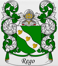 Rego family crest