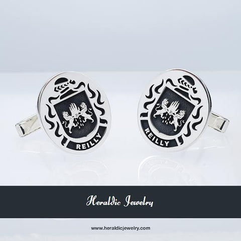 Reilly family crest cufflinks
