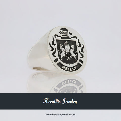 Reilly family crest ring