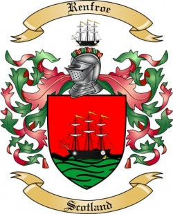 Renfroe family crest
