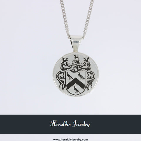 Ridley family crest pendant