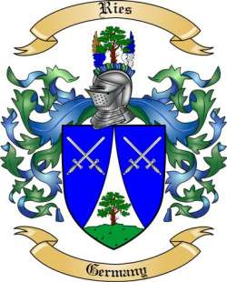 Ries family crest