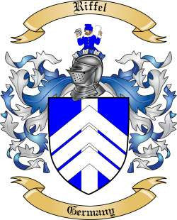 Riffel family crest