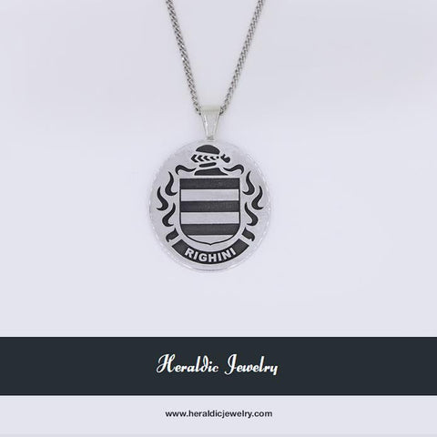 Righini Family Crest Pendant