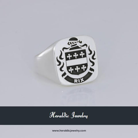 Rix family crest ring