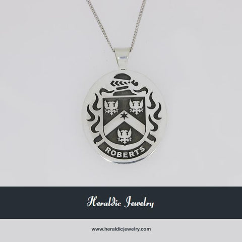 Roberts family crest pendant