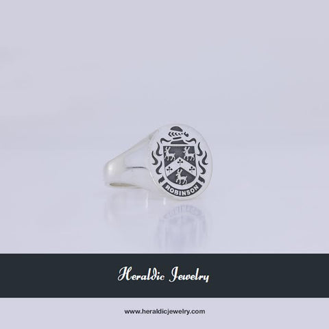 Robinson coat of arms ring