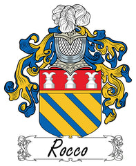 Rocco family crest