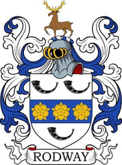Rodway family crest