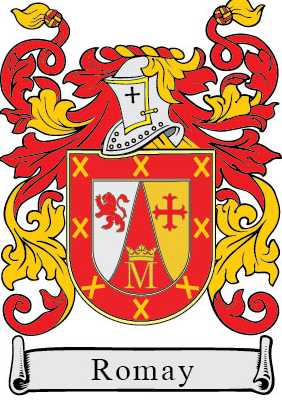Romay family crest