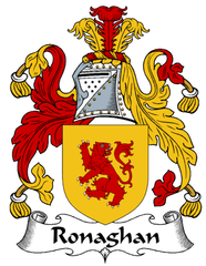 Ronaghan family crest
