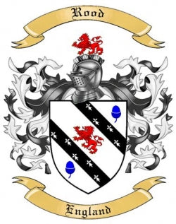 Rood family crest