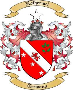 Rothermel family crest