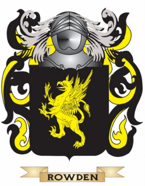 Rowden family crest