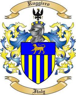 Ruggiero family crest