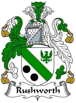 Rushworth family crest