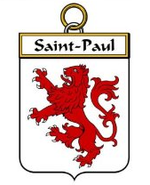 Saint-Paul family crest