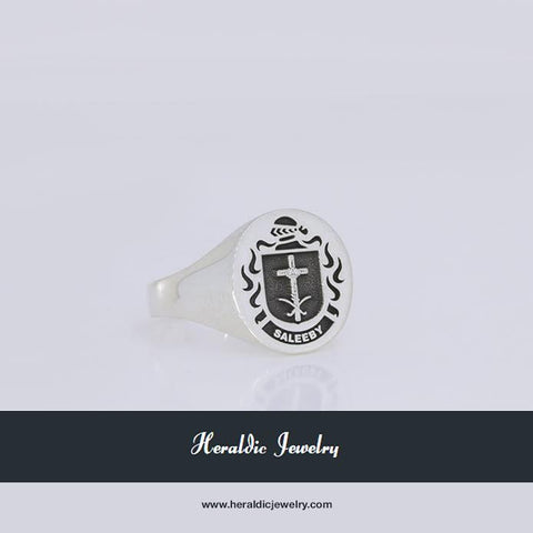 Saleeby family crest ring