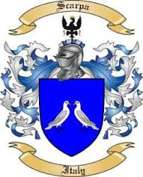 Scarpa family crest