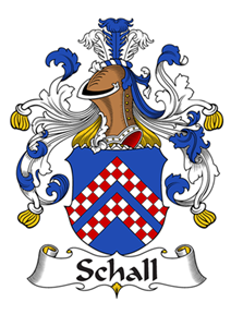 Schall family crest