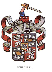 Scheepers family crest