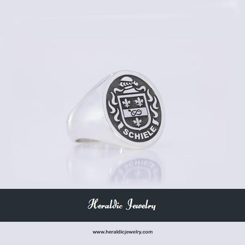 Schiele family crest ring