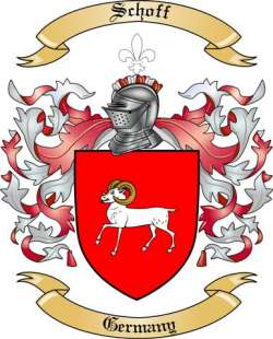 Schoff family crest