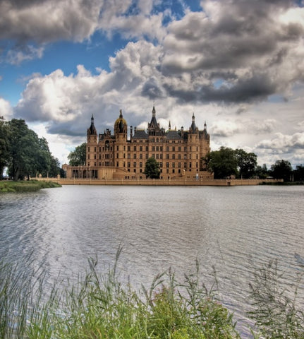 Castle Spotlight, Schwerin Castle, Germany