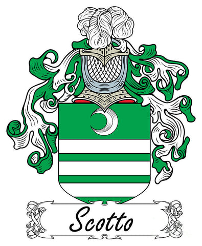 Scotto family crest