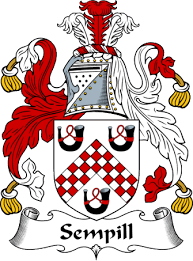 Sempill family crest