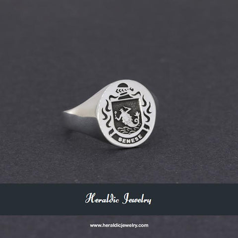 Senese family crest ring