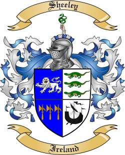 Sheeley family crest