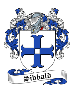 Sibbald family crest