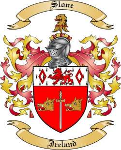 Slone family crest