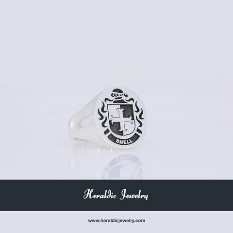 Snell family crest ring