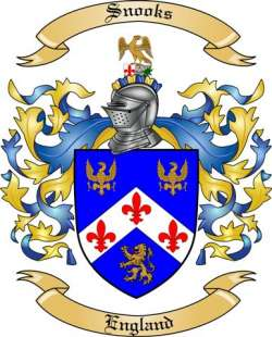 Snook family crest